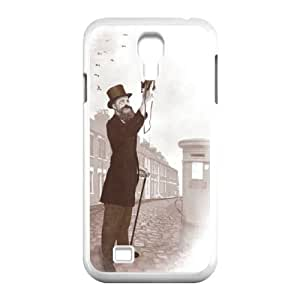 Samsung Galaxy S4 9500 Cell Phone Case White Vintage Selfie GMX Cell Phone Carrying Case
