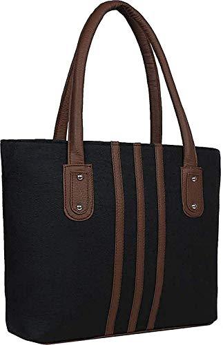Bellina Women #39;s Shoulder Bag  Black  amp; Brown