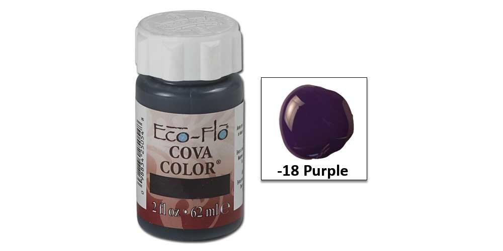 Tandy Leather Eco-flo Cova Color 2 Oz. Purple 2602-18 B07354346L