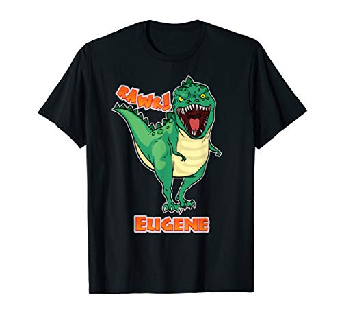 (EUGENE Name Personalized Custom Dinosaur Rawr T-Rex)