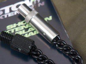 Korda Stow Bobbins Black Stainless Chain With Adaptor Short