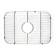 """Franke USA FGS50 Stainless Steel Universal Single Bowl Sink Grid with Center Drain, 13.5"""" x 19.5"""""""