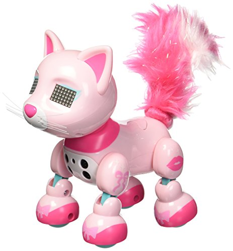Zoomer Meowzies, Chic, Interactive Kitten with Lights, Sounds and Sensors