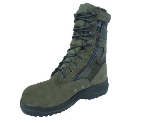 Belleville 610Z Hot Weather Sage Green Air Force Side Zipper Boot