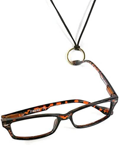iSNAP Magnetic Reading Glasses. Snap ON, Snap OFF. Never lose your eyeglasses again (+1.50, Tortoise)