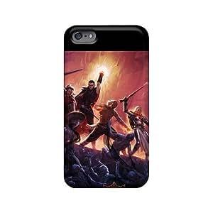 Anti-Scratch Hard Phone Cases For Iphone 6plus (ATI19036FglL) Unique Design High Resolution Rise Against Image