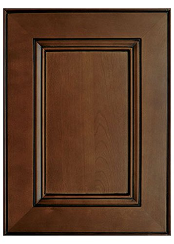 Amazon Com Chestnut Flat Panel Kitchen Cabinet Sample Door Kitchen