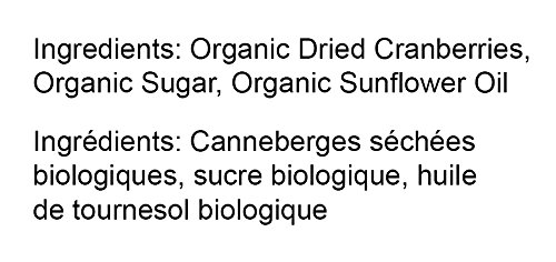 Organic Dried Cranberries, 8 Ounces — Non-GMO, Kosher, Unsulfured, Bulk by Food to Live (Image #4)