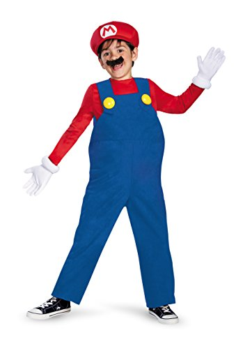 Boy's Nintendo's Super Mario Brothers Deluxe Costume, -