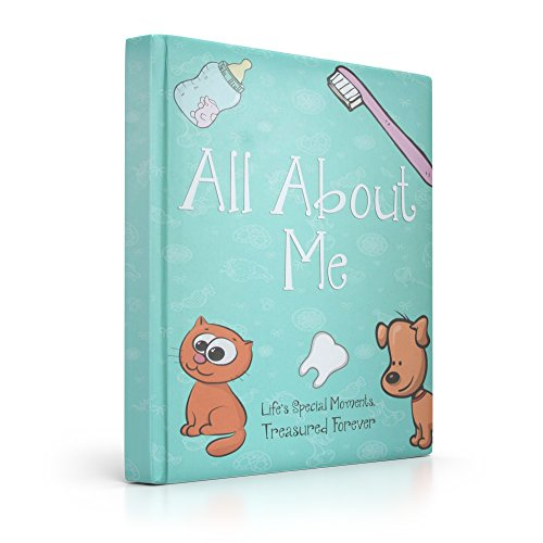 Baby Memory Book, Journal, Scrapbook & Photo Album for Boys & Girls by Moonglade Memories for the First Five Years. Perfect to Record those Special Milestones!