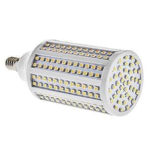 E14 13W 282x3528SMD 600-700LM 3000-3500K Warm White Light LED Corn Bulb (85-265V)