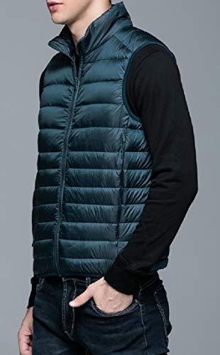 Puffer Ultralight Coat Waistcoat Packable Down Jacket Men's TTYLLMAO 3 Vest FZwfqYF