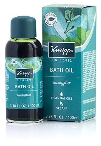 Bath Bubble Cold Herbal - Kneipp Eucalyptus Herbal Bath Oil with Eucalyptus Essential Oil, 3.38 fl oz.