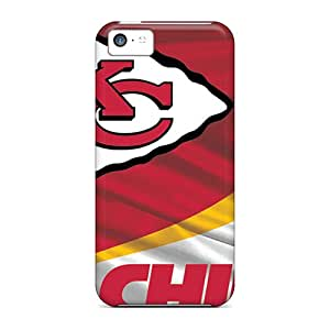 Shock Absorption Cell-phone Hard Covers For Apple Iphone 5c With Customized Fashion Kansas City Chiefs Image WandaDicks
