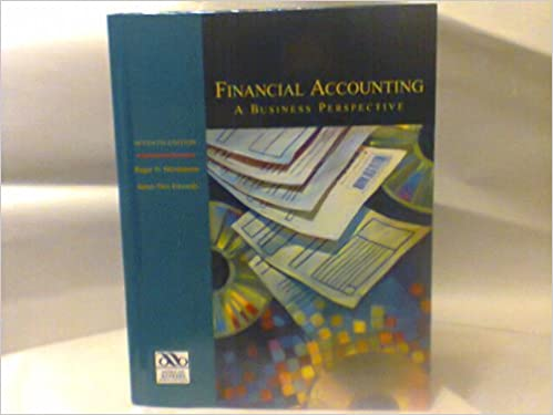 Financial Accounting: A Business Perspective: Roger H  Hermanson