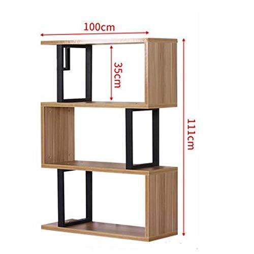 Ping Bu Qing Yun Solid Wood Shelf Open Book Shelf Storage Rack 100X30X75/111/148cm (Three Sizes Can Choose) Bookshelf (Size : 3 Layer) from YQ bookshelf