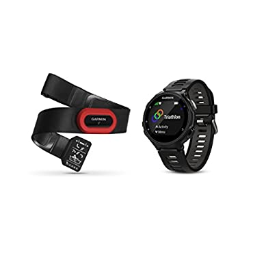 Garmin Forerunner 735XT Black & Gray Run-Bundle