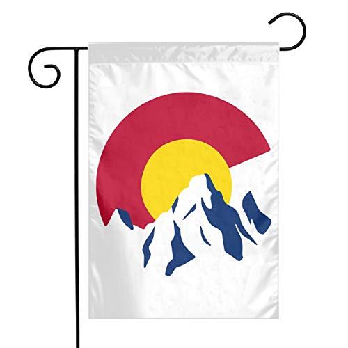 - FLDD4XX Rocky Mountain Colorado C Garden Flag for All Seasons 12