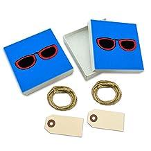 Sunglasses Shades White Gift Boxes Set of 2