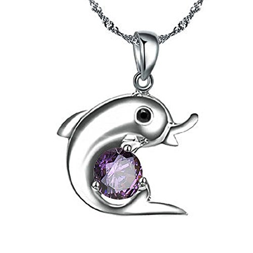 Acxico Dolphin Sterling Necklace Pendant product image