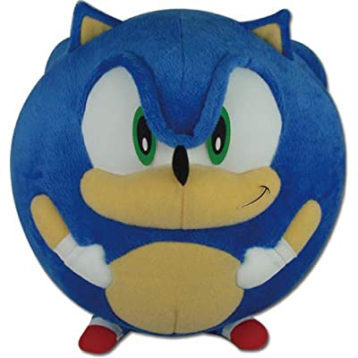 "Great Eastern Entertainment Sonic The Hedgehog -Sonic Ball Plush 8"": Toys & Games"