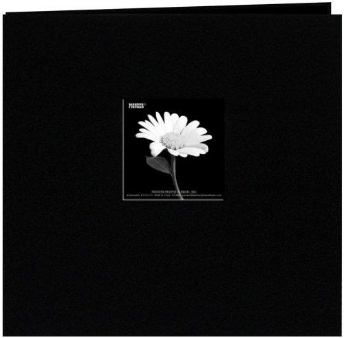 over Post Bound Album 12x12-Black ()