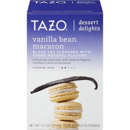 Tazo Vanilla Bean Macaron 15 Black Tea filterbags, total 1.1