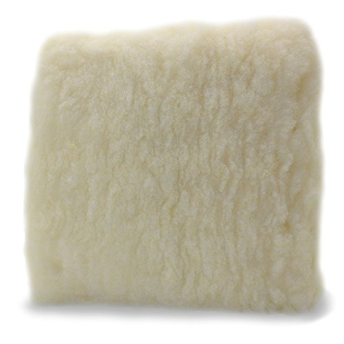 Adams Professional 10 Car Wash Pad - Made of Professional Grade Plush Synthetic Wool - Safely Wash Your Vehicle Without Introducing New Scratches or Swirls - Swirl Free Washing Guaranteed