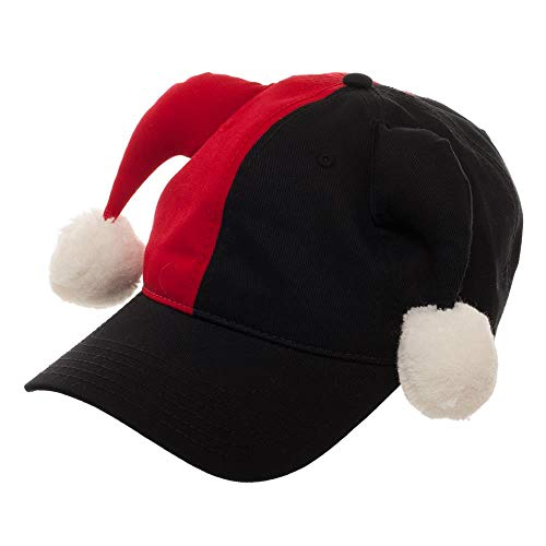 Harley Quinn Hat DC Comics Cosplay Harley Quinn Dad Hat - DC Comics Hat Harley Quinn Cosplay]()