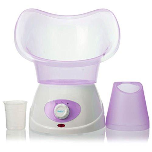 Cheap AnHua Facial Steamer Face Thermal Spa Steamer Pores Steam Skin Renewal Sauna Machine Purple
