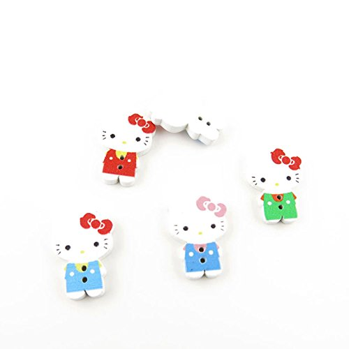 hello kitty buttons for sewing - 5