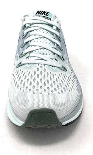 Nike Womens Air Zoom Pegasus 34 Low Top Lace Up Running Sneaker (Barely Grey/Deep Jungle, 5 M US) by Nike (Image #2)