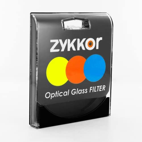 Zykkor 49mm Neutral Density ND2 0.3 ND 2 HD Optical Glass Filter