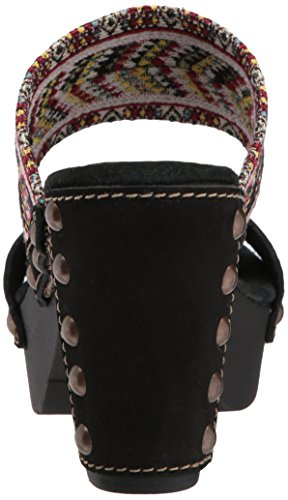 clearance shopping online discount with credit card Sbicca Women's Kashmir Heeled Sandal Black/Multi buy cheap 100% guaranteed kY1PcS