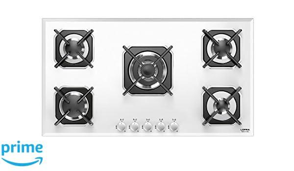 Lofra hgb9e0 Piano integrado, cristal/blanco: Amazon.es: Hogar