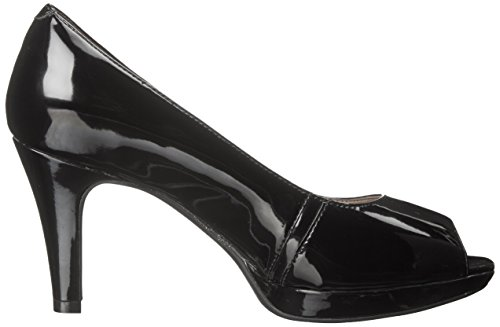 Pump Synthetic Black Rowe CLARKS Patent Women's Narine Platform EnxqqpIAY
