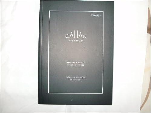 callan method book 1 free
