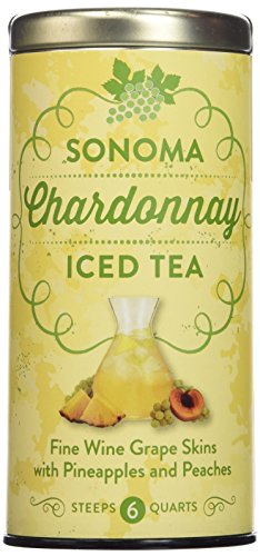Republic of Tea Sonoma Iced Teas, 6 Bags/6 Quarts (Chardonnay) Cabernet Sauvignon Strawberry Wine