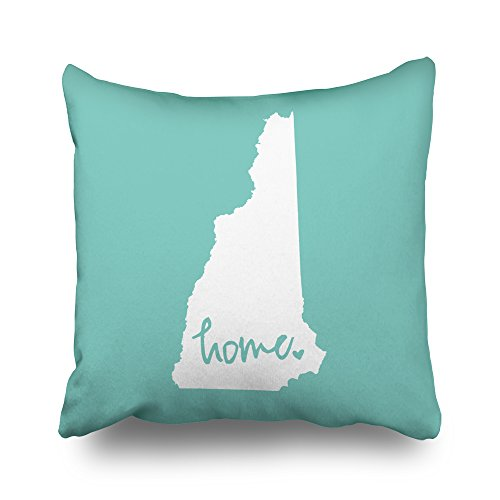Pakaku Throw Pillows Covers for Couch/Bed 16 x 16 inch,Home Hampshire Home Sofa Cushion Cover Pillowcase Gift Decorative Hidden Zipper Cotton and Polyester Summer Beach Sunlight