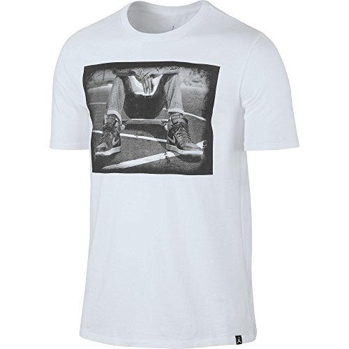 T-Shirt Jordan – Sportswear Kick Push bianco formato: L (Large)