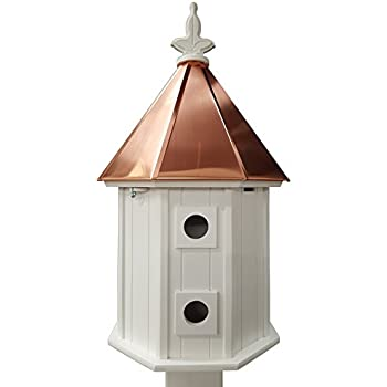 Two-story Birdhouse Copper Roof Made In the USA