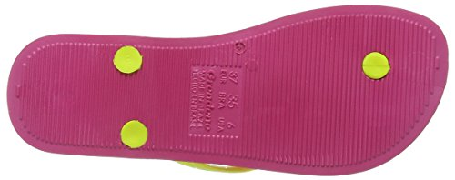 Ipanema Tropical, Sandalias, Mujer Amarillo (Pink/Yellow)