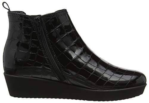 Basic 97 Botines Noir Micro Comfort Shoes Femme Schwarz Gabor Z6w1STx