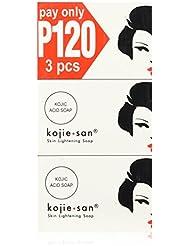 KOJIE SAN SOAP, ALL VARIANTS, (SKIN LIGHTENING SOAP 3X100GRAMS) by Kojie San