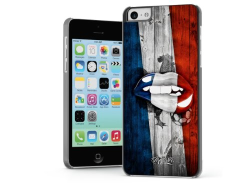 Master Case - Coque iPhone 5C Lips Flag France