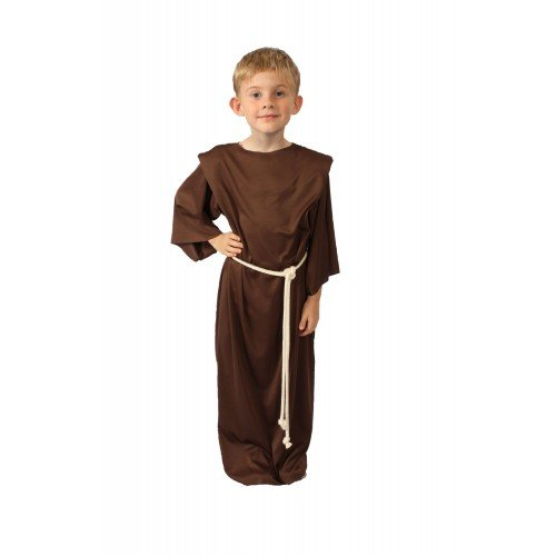 Alexanders Costumes Story of Christ Biblical Gown Child Costume, Brown, Medium