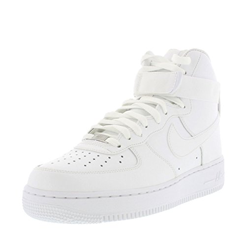 Nike Mens Air Force 1 High 07 Basketball Shoes White/White 315121-115 Size 10