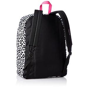 JanSport Unisex SuperBreak White Leopard Backpack