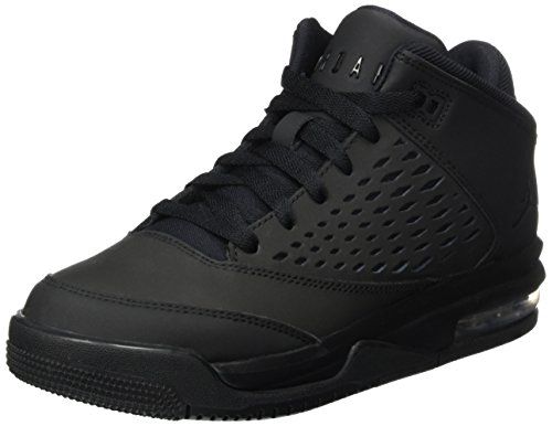 JORDAN KIDS JORDAN FLIGHT ORIGIN 4 (GS) BLACK BLACK SIZE 4.5 by Jordan