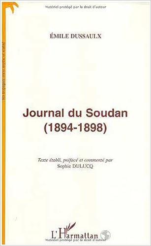 En ligne téléchargement Journal du Soudan, 1894-1898 pdf, epub ebook